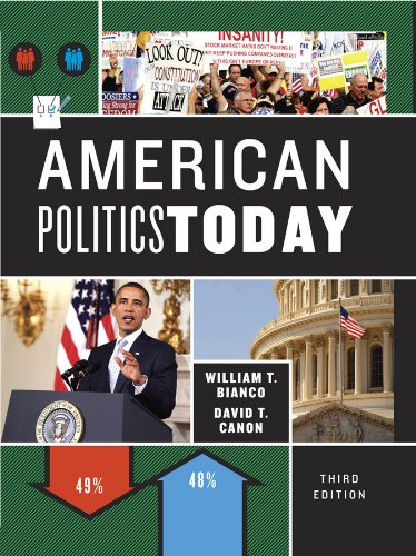 9780393913255: American Politics Today (Third Full Edition)