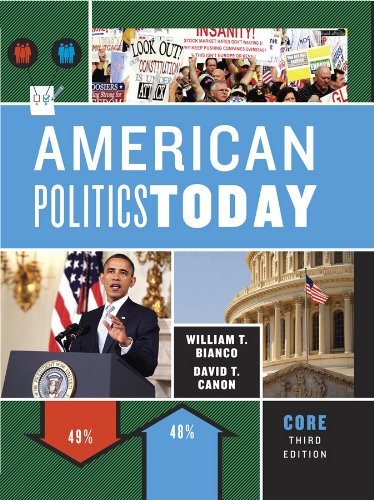 9780393913279: American Politics Today (Third Core Edition)