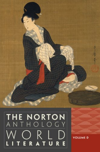 9780393913323: The Norton Anthology of World Literature (Third Edition) (Vol. D)