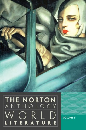 9780393913347: The Norton Anthology of World Literature (Third Edition) (Vol. F)