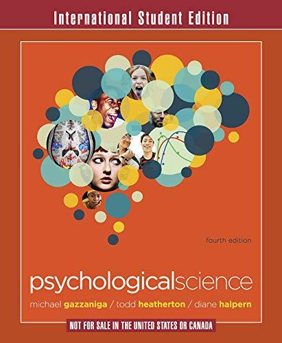 9780393913361: Psychological Science