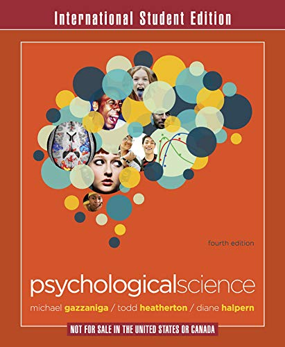 9780393913361: Psychological Science