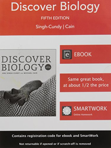 Discover Biology 5th Edition Register Code: Anu Singh-Cundy Michael L. Cain
