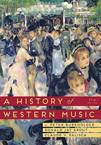 9780393918298: A History of Western Music (Ninth Edition)