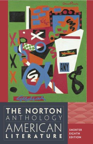 The Norton Anthology of American Literature: Shorter: Klinkowitz, Jerome