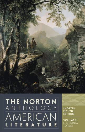 9780393918861: The Norton Anthology of American Literature, Vol. 1 (Shorter Eighth Edition)