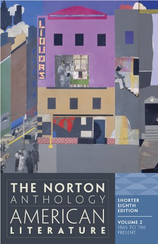 9780393918878: The Norton Anthology of American Literature, Vol. 2: 1865 to the Present, Shorter 8th Edition