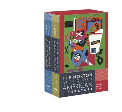 9780393918885: The Norton Anthology of American Literature 2 Volume Set, Shorter Edition