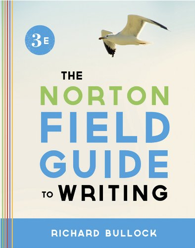 the norton field guide to writing Read and download the norton field guide to writing free ebooks in pdf format how to cure low self-esteem with spiritual understanding a simplified guide for.