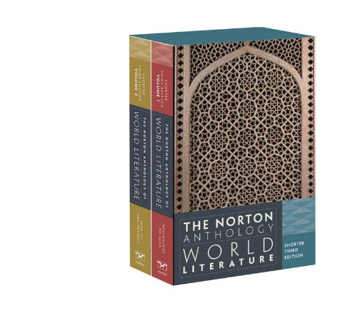 9780393919622: The Norton Anthology of World Literature (Shorter Third Edition) (Vol. Two-Volume Set)