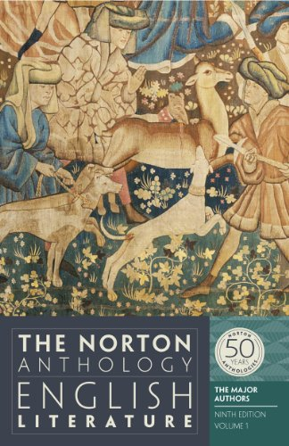 9780393919646: The Norton Anthology of English Literature, Volume 1: The Major Authors