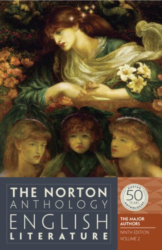 9780393919653: The Norton Anthology of English Literature, The Major Authors (Ninth Edition) (Vol. 2)