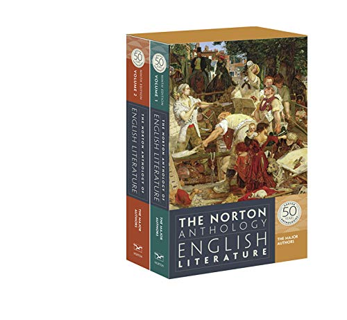 9780393919660: The Norton Anthology of English Literature: The Major Authors 2 Volume Set