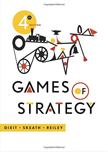 9780393919684: Games of Strategy (Fourth Edition)