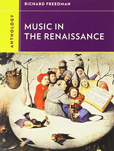 9780393920192: Anthology for Music in the Renaissance (Western Music in Context: a Norton History)