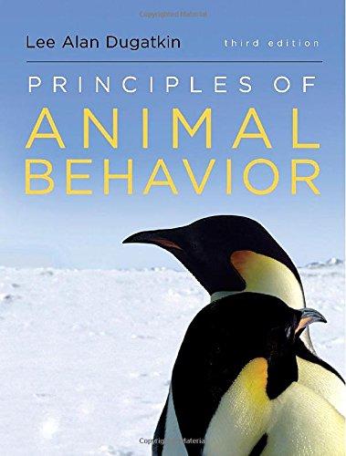 9780393920451: Principles of Animal Behavior (Third Edition)