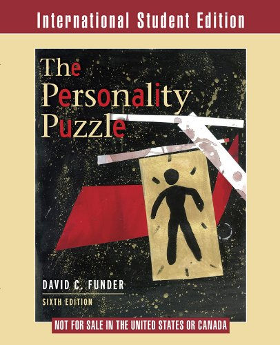 9780393920796: The Personality Puzzle