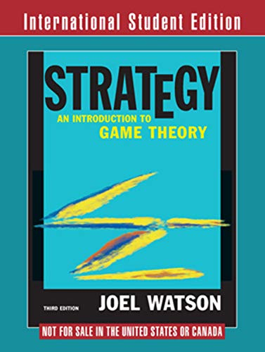 9780393920826: Strategy: An Introduction to Game Theory