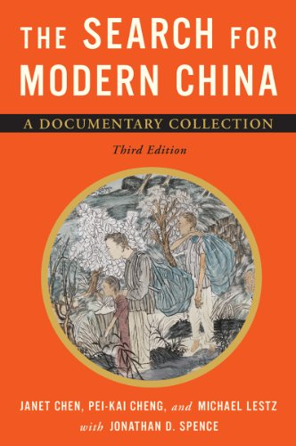 The Search for Modern China: Chen, Janet (EDT)/