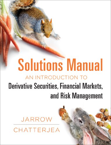 9780393920949: Solutions Manual: for: An Introduction to Derivative Securities, Financial Markets, and Risk Management