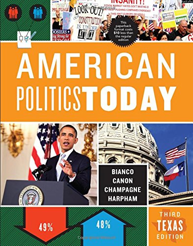 9780393920994: American Politics Today (Third Texas Edition)