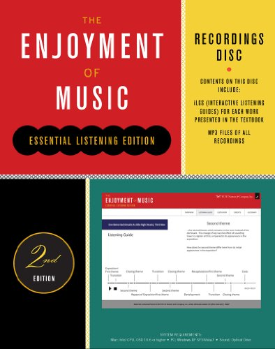 9780393921052: Recordings Disc: For the Enjoyment of Music, Essential Listening Edition, Second Edition