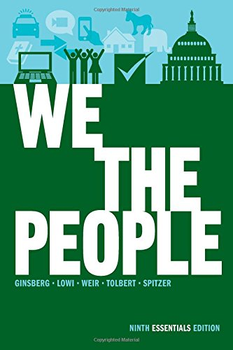 9780393921106: We the People: An Introduction to American Politics (Ninth Essentials Edition)