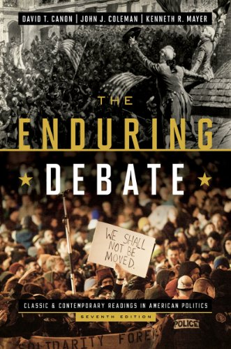 9780393921588: The Enduring Debate: Classic and Contemporary Readings in American Politics (Seventh Edition)