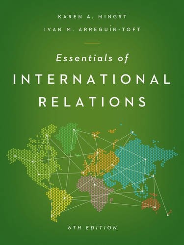 9780393921953: Essentials of International Relations