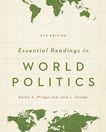 9780393921960: Essential Readings in World Politics (Fifth Edition) (Norton Series in World Politics (Paperback))