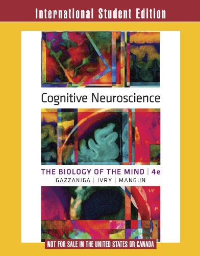 Cognitive Neuroscience: Gazzaniga, Director Michael