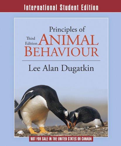 9780393922332: Principles of Animal Behavior