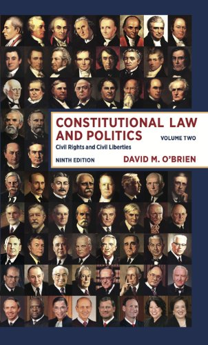 9780393922400: Constitutional Law and Politics: Civil Rights and Civil Liberties (Ninth Edition) (Vol. 2)