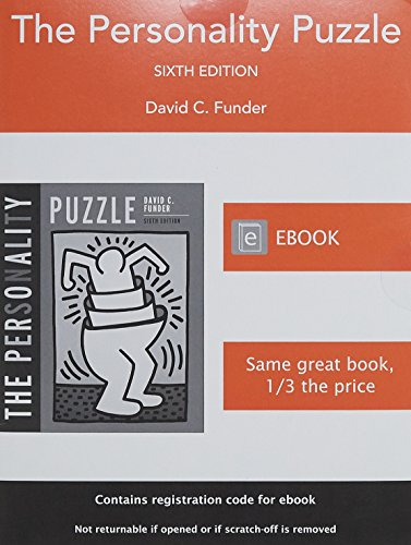 9780393922509: The Personality Puzzle