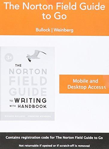9780393923551: Access Code for The Norton Field Guide to go, 3e