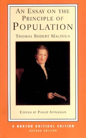 9780393924107: Essay on the Principle of Population (Norton Critical Editions)