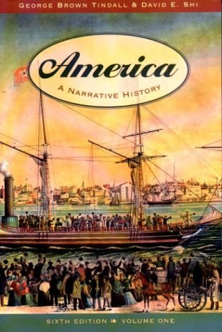 9780393924268: America: A Narrative History (6th Edition, Volume One)