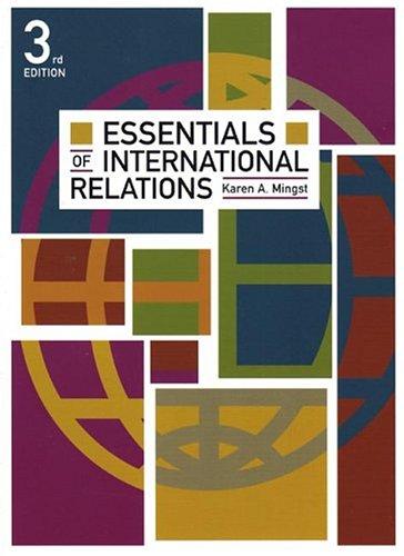 9780393924480: Essentials of International Relations, Third Edition