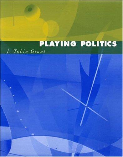 9780393924862: Playing Politics