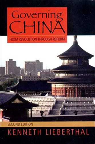 9780393924923: Governing China: From Revolution Through Reform, 2nd Edition