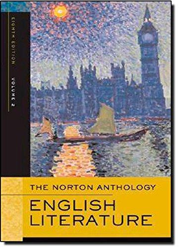 9780393925326: The Norton Anthology of English Literature, Volume 2: The Romantic Period through the Twentieth Century (Norton Anthology of English Literature)