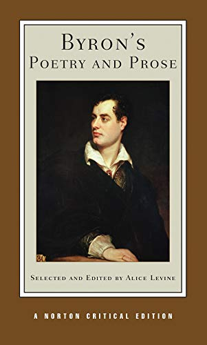 9780393925609: Byron's Poetry and Prose (Norton Critical Editions)