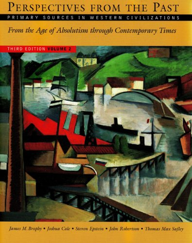 Perspectives from the Past, Volume 2 : James M. Brophy;