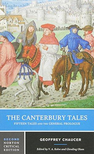 Beispielbild für The Canterbury Tales: Fifteen Tales and the General Prologue (Norton Critical Editions) zum Verkauf von Pro Quo Books