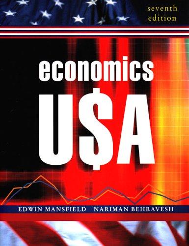 Economics U$A (Seventh Edition): Behravesh, Nariman; Mansfield,