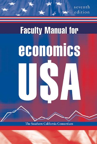 9780393926095: Faculty manual for economics USA