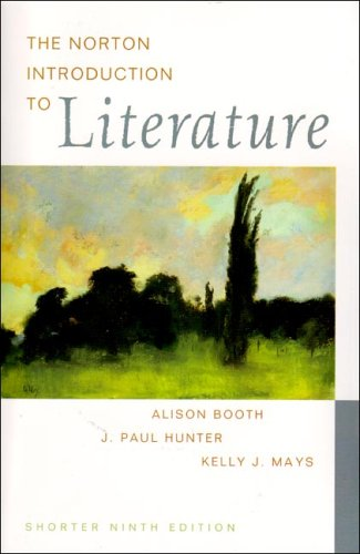 9780393926156: The Norton Introduction to Literature (Shorter Edition)