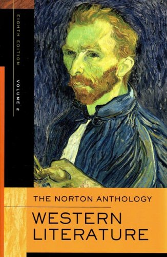 9780393926163: The Norton Anthology of Western Literature, Volume 2
