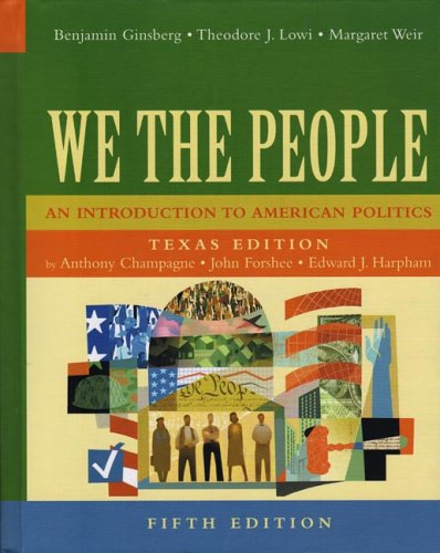 9780393926217: We The People: An Introduction To American Politics