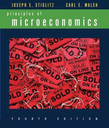 9780393926231: Principles of Microeconomics, Fourth Edition